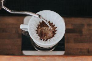Fresh brewed Real Kona Coffee